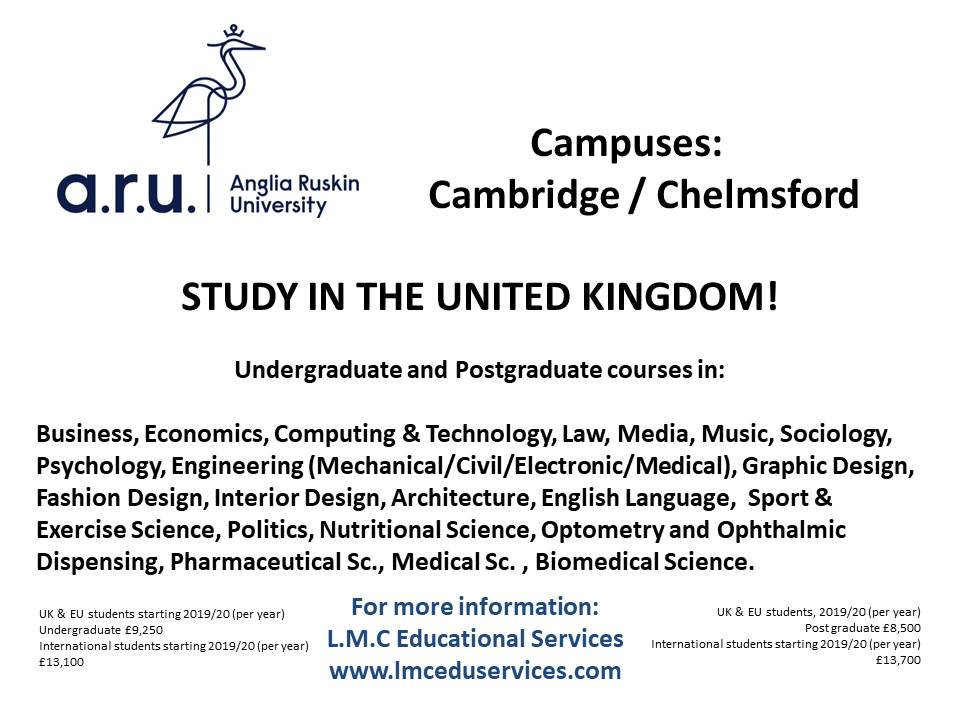 Lmc Anglia Ruskin University Uk